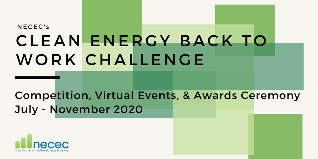 Anbaric is Proud to Sponsor NECEC 2020 Clean Energy Back to Work Challenge
